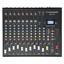 Consoles analogiques - Audiophony - MPX12