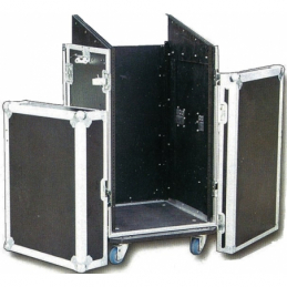 Flight cases rackables bois - Power Acoustics - Flight cases - FCP 12 U