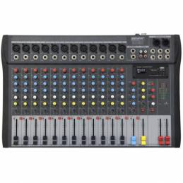 Consoles analogiques - Power Acoustics - Sonorisation - MX16 USB V2