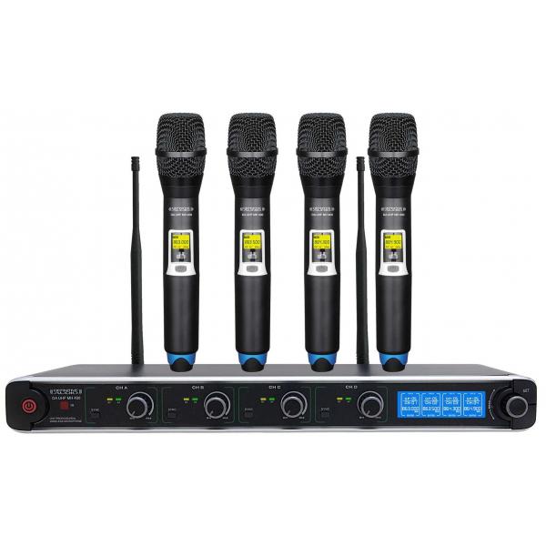 Micros chant sans fil - Definitive Audio - DA UHF MH 400
