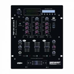 Tables de mixage DJ - Power Acoustics - Sonorisation - PMP 300 USB MK2