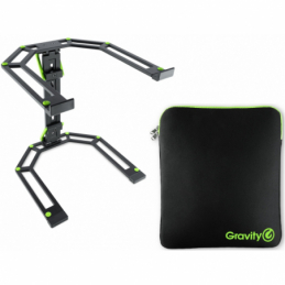 Stands laptops DJ - Gravity - LTS 01 B SET 1