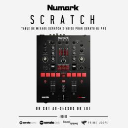 Tables de mixage DJ - Numark - SCRATCH