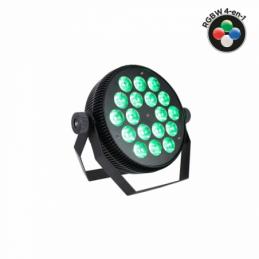 Projecteurs PAR LED - Power Lighting - PAR SLIM 18x10W QUAD