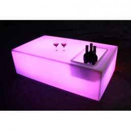 Mobilier lumineux - AFX Light - LED-SQUARETABLE