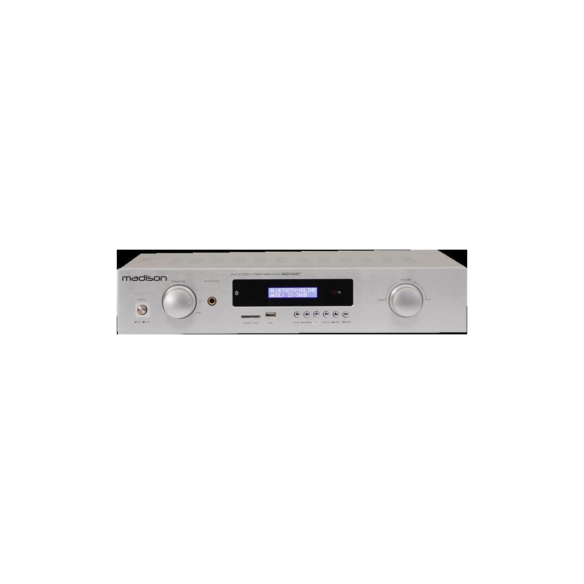 Ampli hifi stéréo - Madison - MAD1400BT-SL