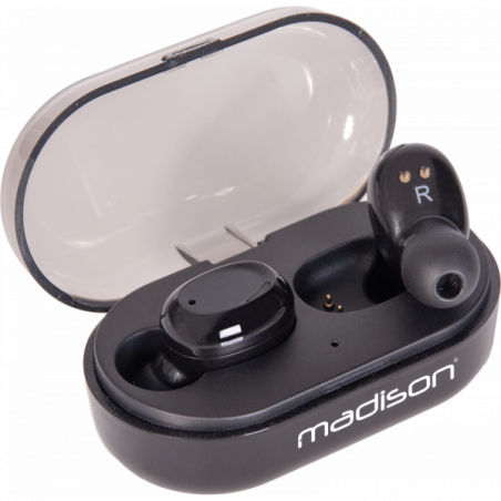 Casques intra auriculaires - Madison - ETWS150-BK