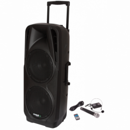 Sonos portables sur batteries - Ibiza Sound - PORT225VHF-BT