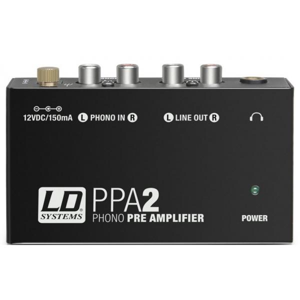 Préampli phono RIAA - LD Systems - PPA 2
