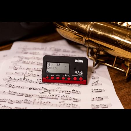Accessoires claviers et Synthé - Korg - MA-2 (NOIR ET ROUGE)