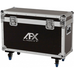 Flight cases éclairage - AFX Light - FL-2BEAM100LED