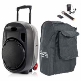 Sonos portables sur batteries - Ibiza Sound - PORT15UHF-MKII
