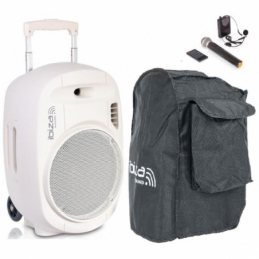 Sonos portables sur batteries - Ibiza Sound - PORT12UHF-MKII-WH
