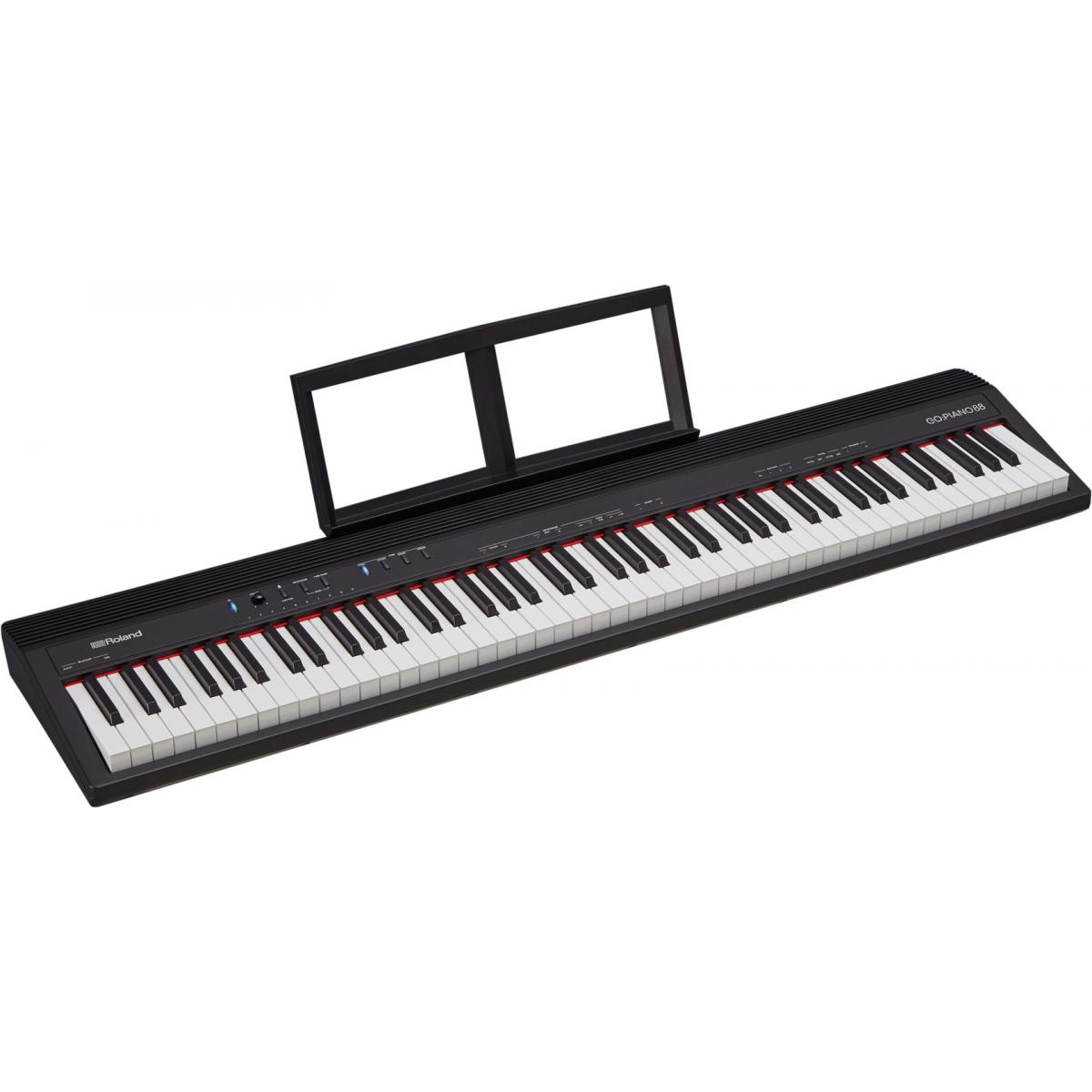 Pianos numériques portables - Roland - GO:PIANO 88