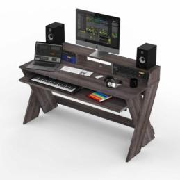 Mobilier home studio - Glorious DJ - SOUND DESK PRO WALNUT