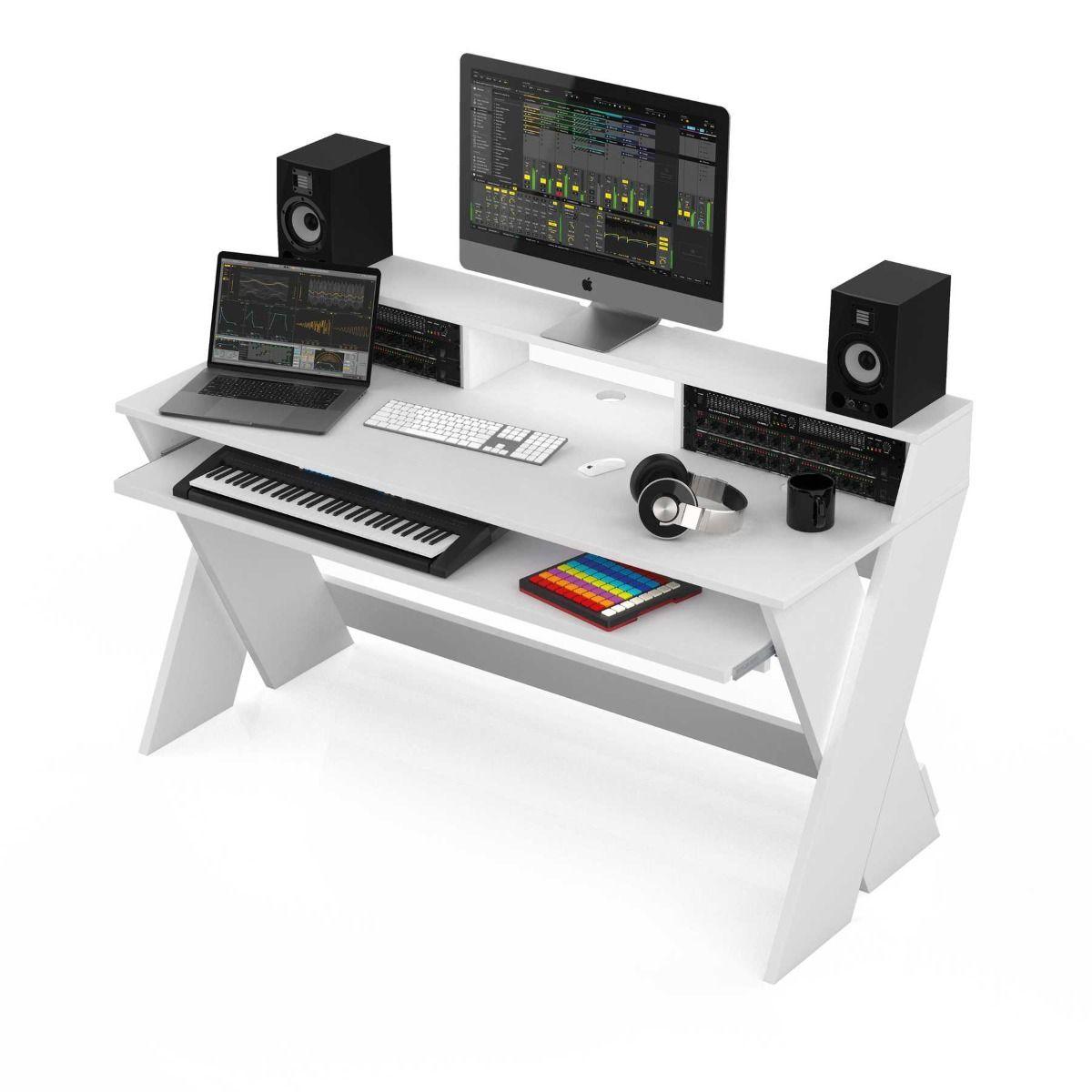 Mobilier home studio - Glorious DJ - SOUND DESK PRO WHITE