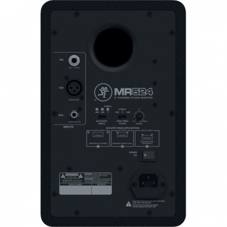 Enceintes monitoring de studio - Mackie - MR524
