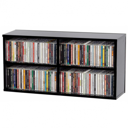 Meubles et pochettes de disques - Glorious DJ - CD BOX 180 BLACK
