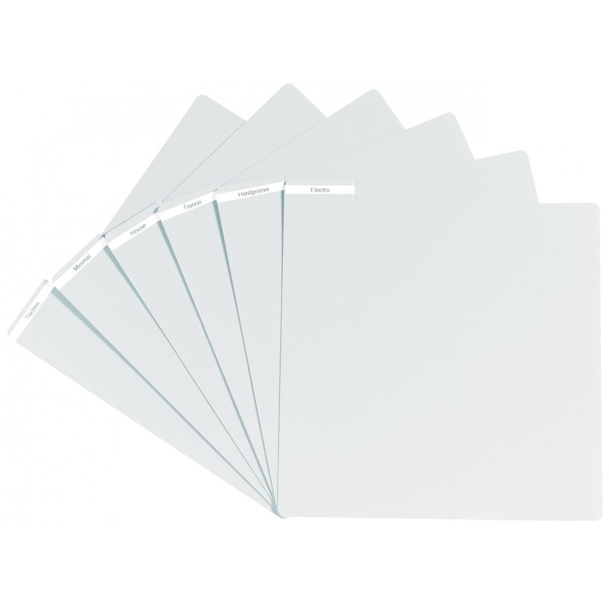 Meubles et pochettes de disques - Glorious DJ - VINYL DIVIDER WHITE