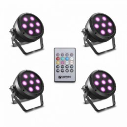 Projecteurs PAR LED - Cameo - ROOT PAR 4 SET 1