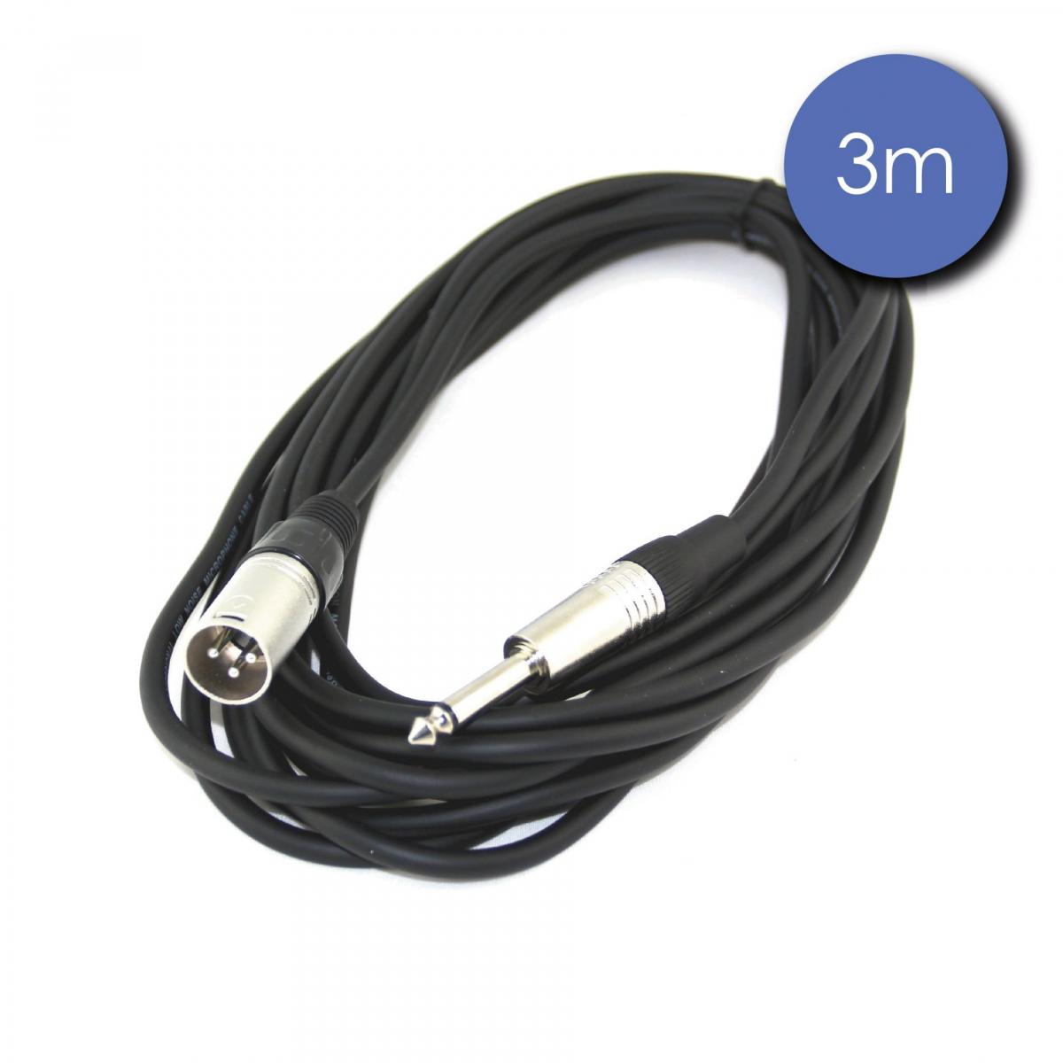 Câbles JACK / XLR - Power Acoustics - Accessoires - CAB 2134