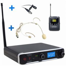 Micros serre-tête sans fil - Definitive Audio - DA UHF PT 100