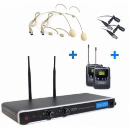 Micros serre-tête sans fil - Definitive Audio - DA UHF PT 200