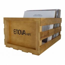Meubles et pochettes de disques - Enova Hifi - VINYL BOX STORAGE 120 WOOD...