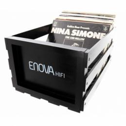 Meubles et pochettes de disques - Enova Hifi - VINYL BOX STORAGE 120 BLACK...