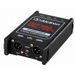 Boites de direct DI - Alctron - DI 2700 N