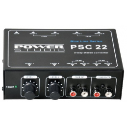 Traitement du son - Power Studio - PSC 22