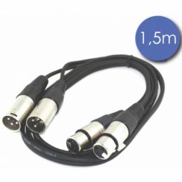 Câbles XLR / XLR - Power Acoustics - Accessoires - CAB 2139