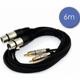 Câbles RCA / XLR - Power Acoustics - Accessoires - CAB 2069