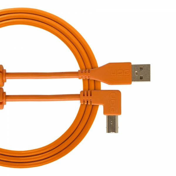 Câbles USB A vers B - UDG - U95004OR (1 mètre)