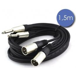Câbles JACK / XLR - Power Acoustics - Accessoires - CAB 2110