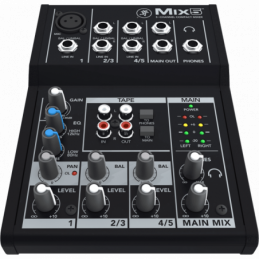 Consoles analogiques - Mackie - MIX5