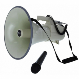 Mégaphones porte-voix - Power Acoustics - Sonorisation - MEGAPOWER 60 WIR