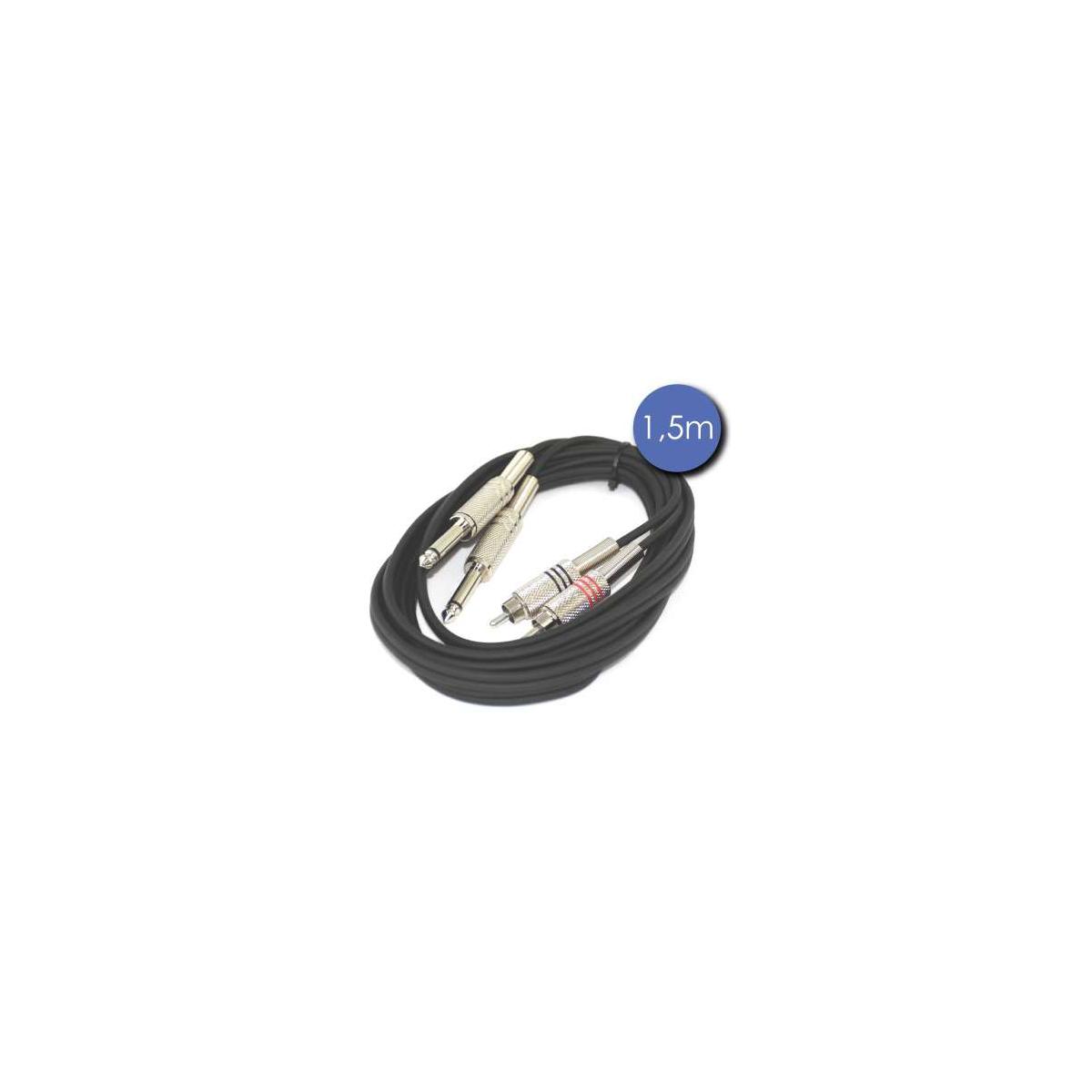 Câbles JACK / RCA - Power Acoustics - Accessoires - CAB 2070