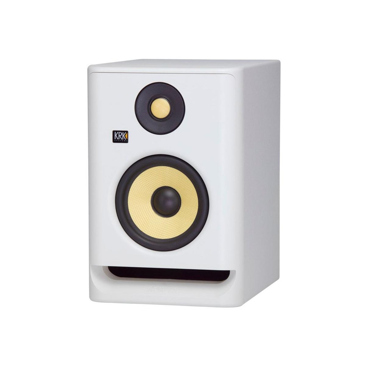 Enceintes monitoring de studio - KRK - ROKIT RP5 G4 WHITE NOISE