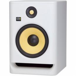 Enceintes monitoring de studio - KRK - ROKIT RP8 G4 WHITE NOISE
