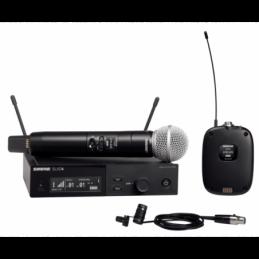 Micros chant sans fil - Shure - SLXD124E/85-J53