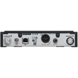 Micros serre-tête sans fil - Shure - SLXD14E/153T-H56