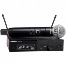 Micros chant sans fil - Shure - SLXD24E/BETA58 H56