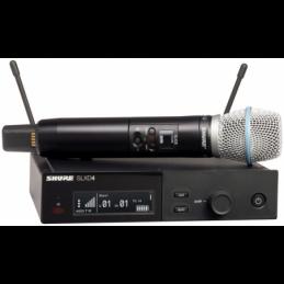 Micros chant sans fil - Shure - SLXD24E/BETA87A H56