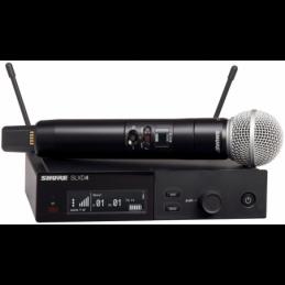 Micros chant sans fil - Shure - SLXD24E/SM58-H56