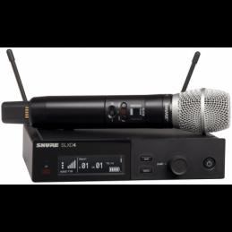 Micros chant sans fil - Shure - SLXD24E/SM86 H56