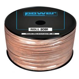 Câble hauts parleurs au mètre - Power Acoustics - Accessoires - ROLL 2091 (BOBINE 50M)