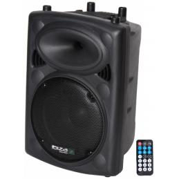 Enceintes amplifiées bluetooth - Ibiza Sound - SLK10A-BT