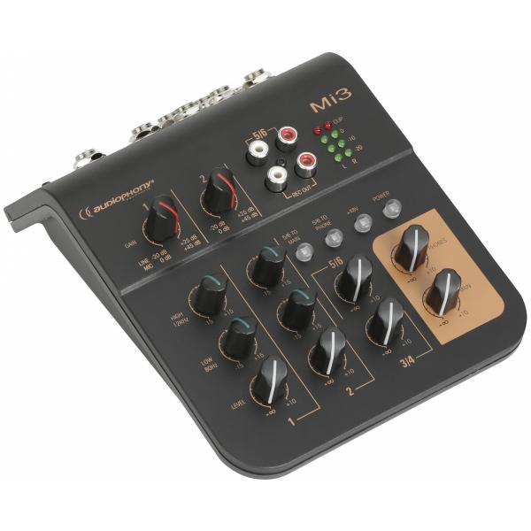 Consoles analogiques - Audiophony - MI3