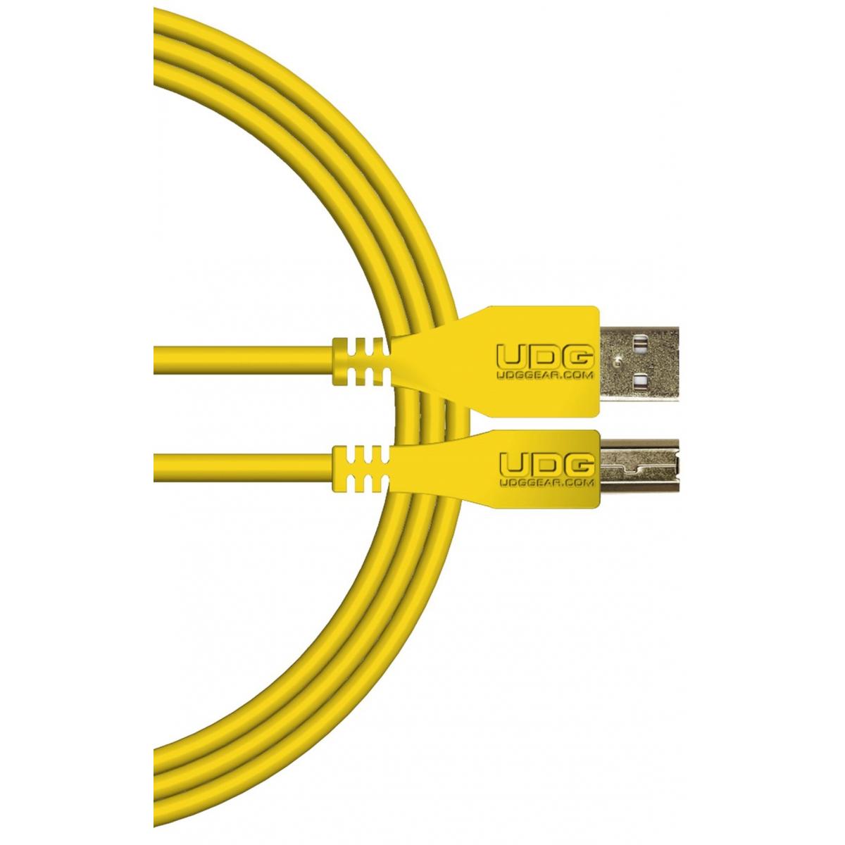 Câbles USB A vers B - UDG - U95001YL (1 mètre)